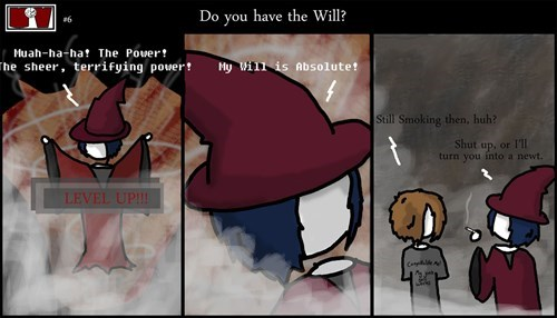 magic willpower smoking web comics - 8435802880