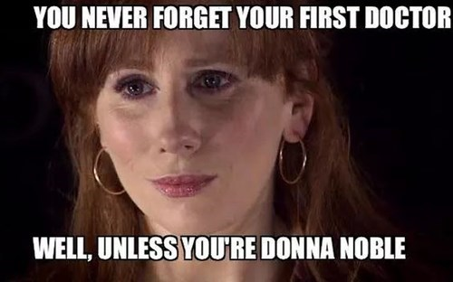 forget the doctor donna noble - 8435854080