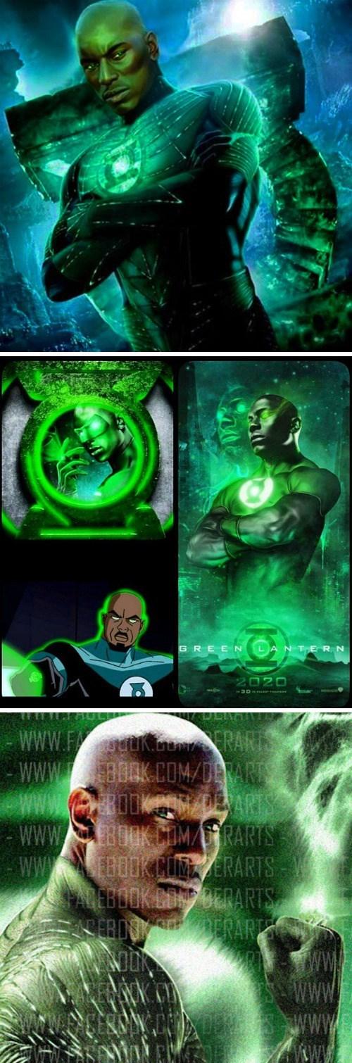 DC tyrese Green lantern casting news - 8435864064