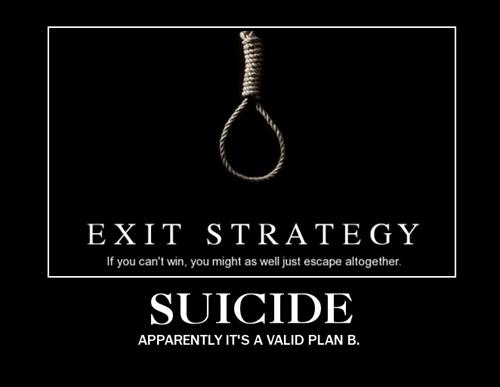 depressing funny plan b suicide - 8435881984