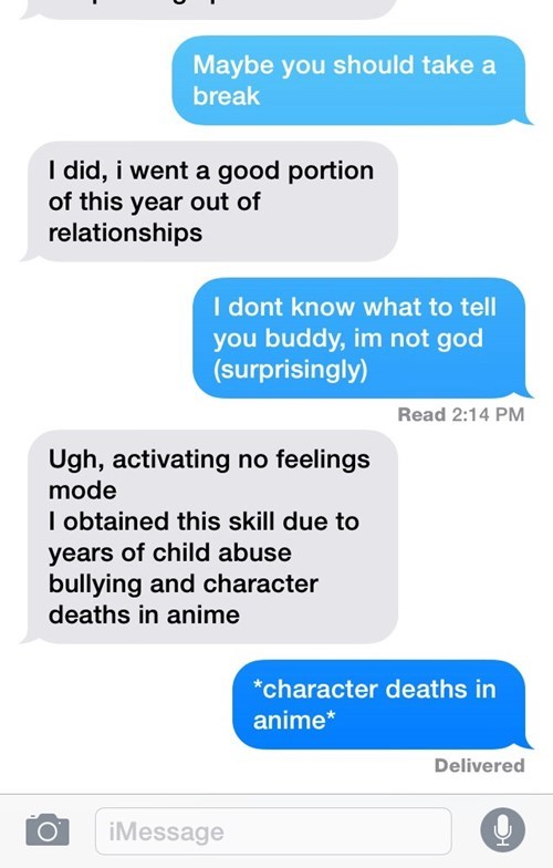 anime breakups relationships texting - 8435890688