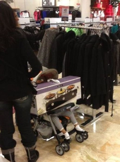 kids shopping parenting stroller - 8435911936