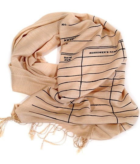 retro scarf poorly dressed library - 8435946240