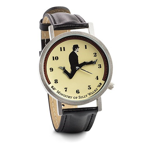 ministry of silly walks poorly dressed monty python watch - 8435948544