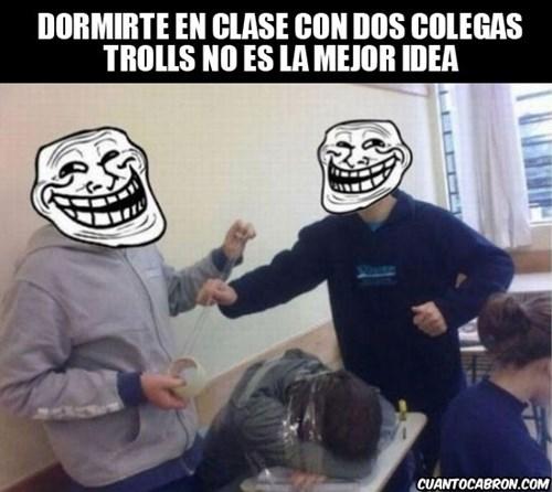 estudiantes trols