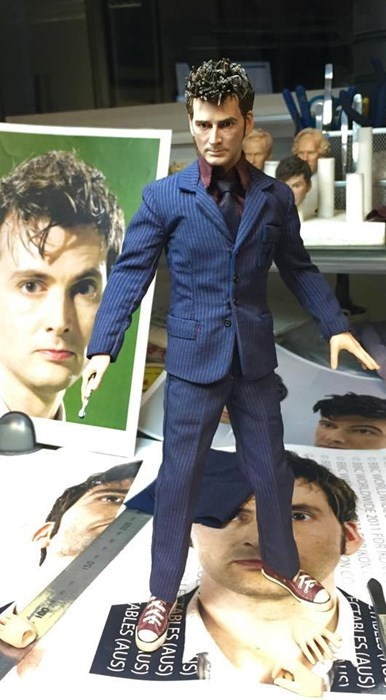 action figures David Tennant 10th doctor - 8435958528
