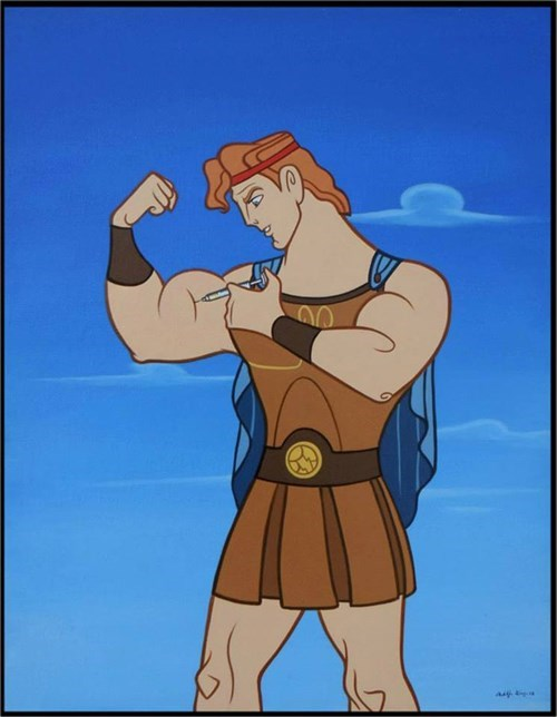 hercules steroids