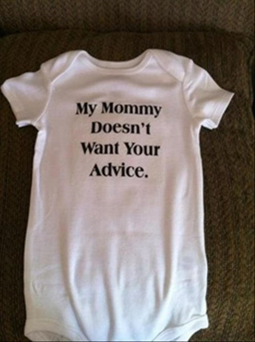 onesie baby parenting advice mom g rated - 8436002816