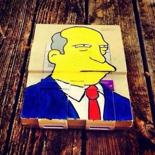 superintendent chalmers the simpsons - 8436010496