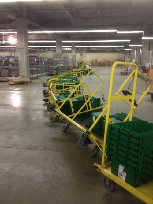 monday thru friday,carts,domino effect