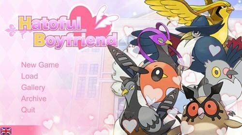 Pokémon birds hatoful boyfriend video games - 8436040448