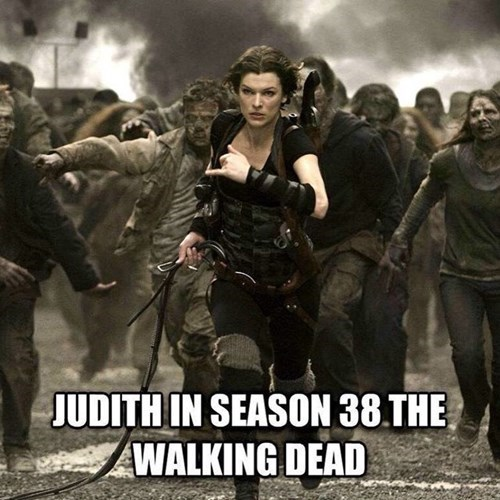 milla jovovich resident evil The Walking Dead - 8436044800
