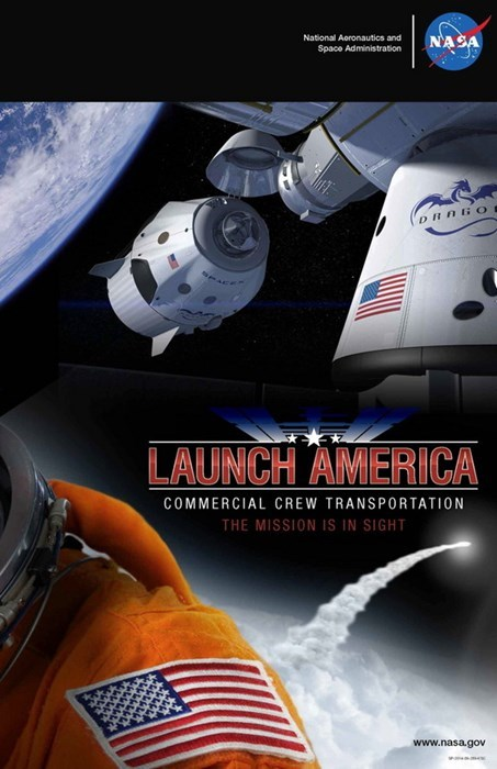 space flights starting in 2017