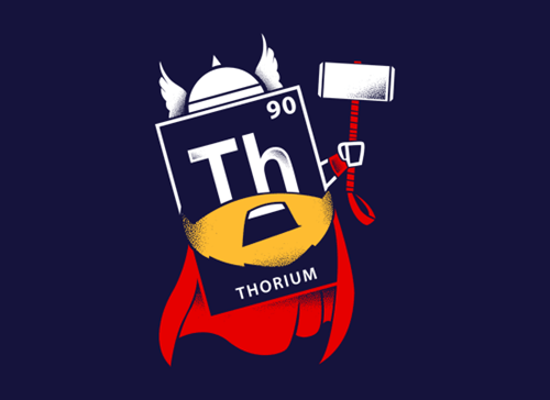periodic table Thor tshirts - 8436237312