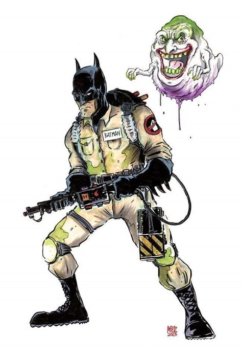 crossover,batman,Ghostbusters