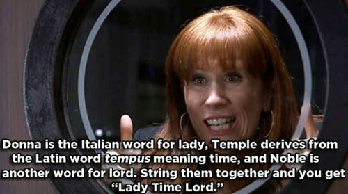 donna noble,etymology,whats-in-a-name