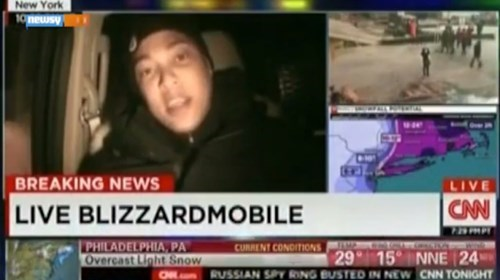 don lemon news cnn facepalm new york Probably bad News snowmageddon - 8436385792