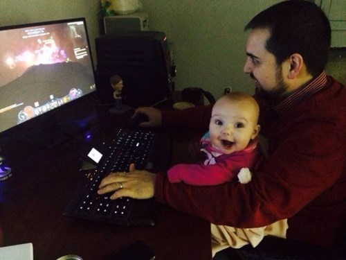 baby,parenting,video games