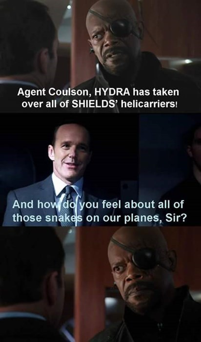 agent coulson Nick Fury Samuel L Jackson agents of shield - 8436454656