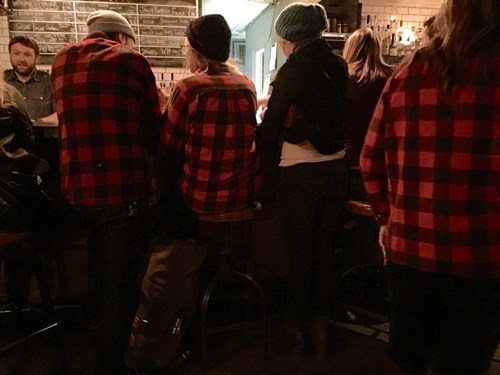 poorly dressed matching plaid - 8436459008