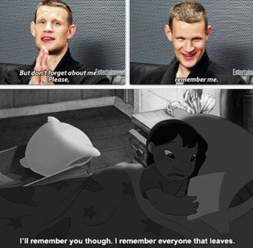 11th Doctor lilo and stitch remember - 8436487680