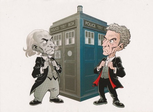 classic who Peter Capaldi 1st doctor - 8436497664