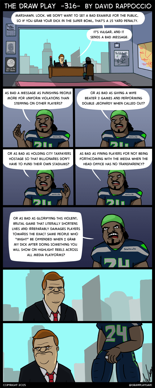 football marshawn lynch sports web comics - 8436532736