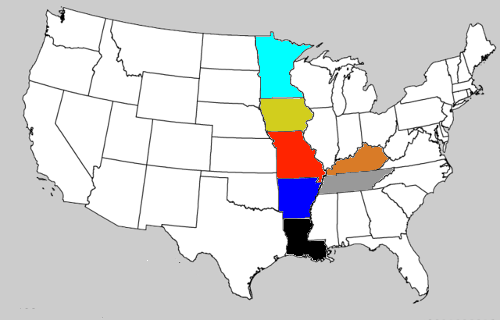 states midwest mimal - 8436555008