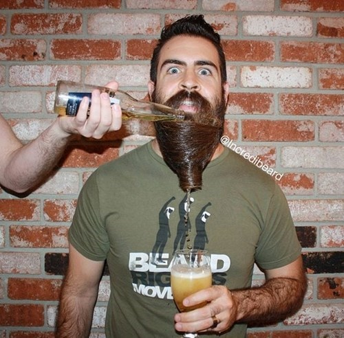 beer beard manly - 8436609280