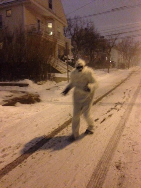 yeti,blizzard,snow,prank,weird,snowmageddon,g rated,win