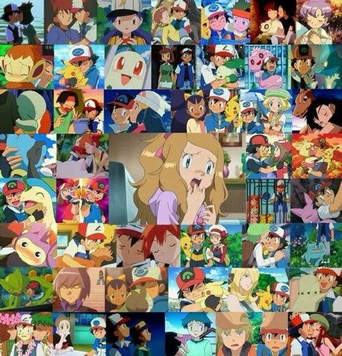 anime Pokémon serena - 8436797440