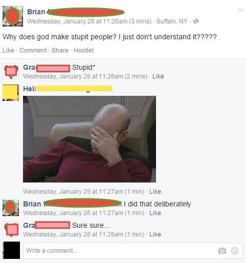 facepalm irony spelling - 8437085952