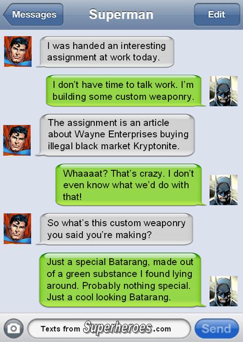 Batman v Superman kryptonite superman - 8437182464