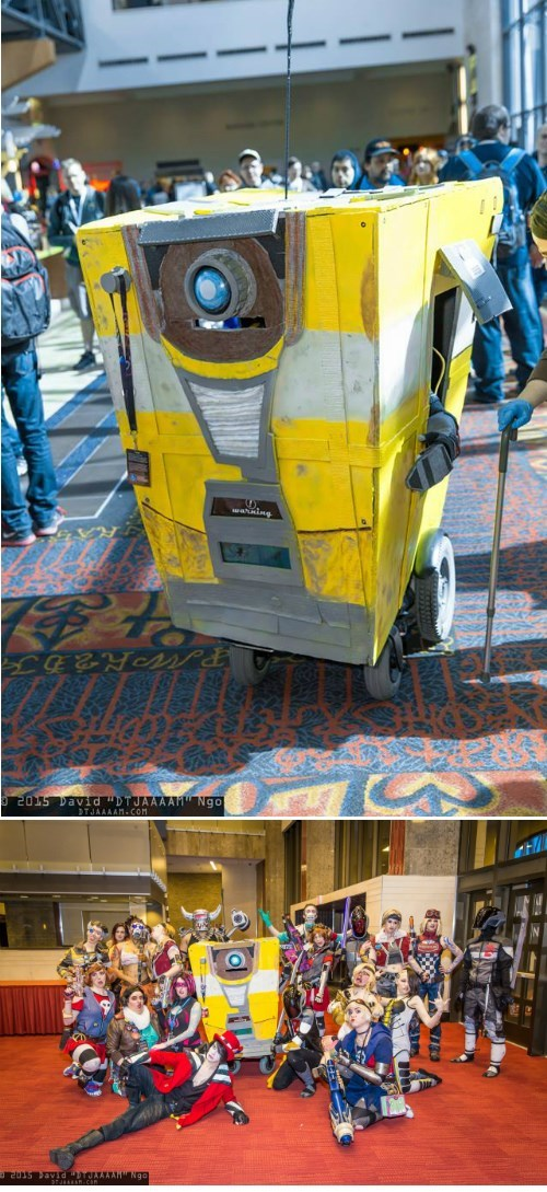 borderlands,cosplay,claptrap