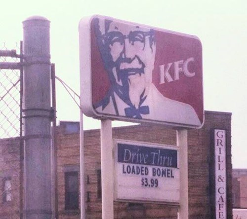 sign,kfc,food,fast food
