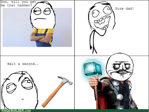 Thor kids me gusta hammer - 8437499904
