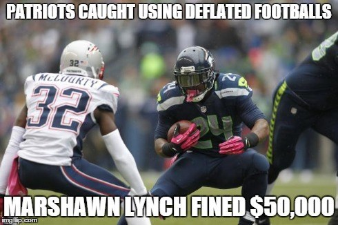 super bowl,patriots,new england patriots,deflategate,marshawn lynch