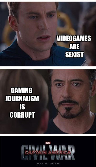The Avengers,gamers,journalists,Memes,gamergate