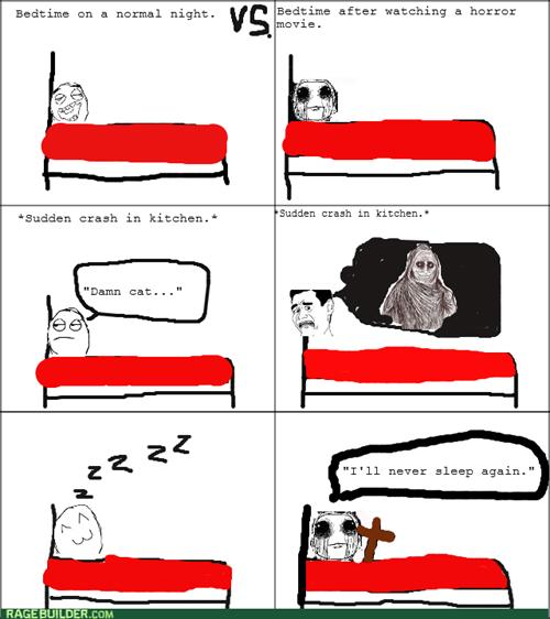 horror noises sleeping - 8437591296