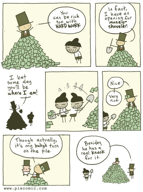 in this economy shovels sad but true money web comics