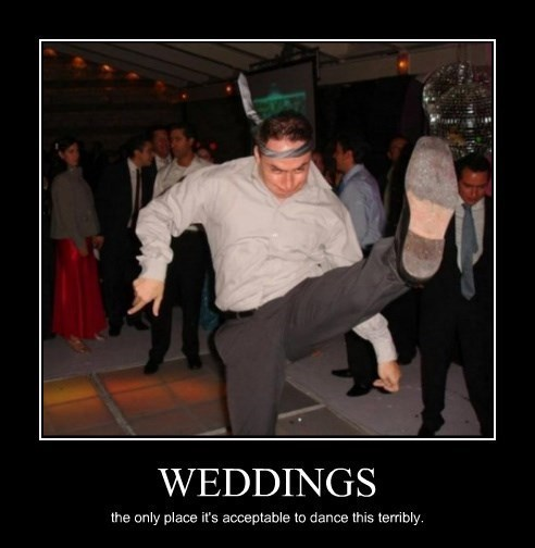 dancing wedding idiots funny fun dancing funny dance weddings - 8437859072