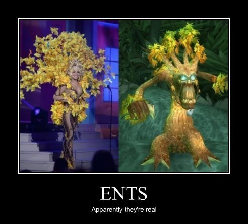 WoW ent druids funny - 8437859328