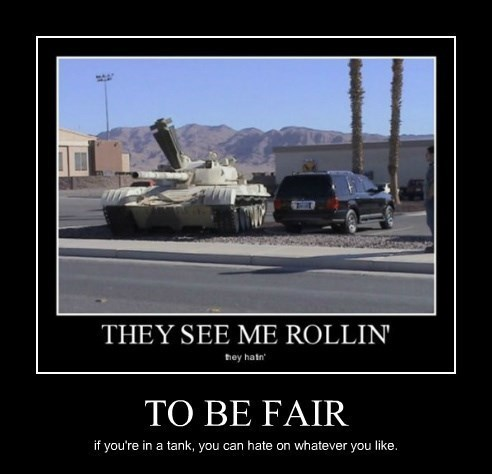 suv rolling cars tank funny - 8437860608