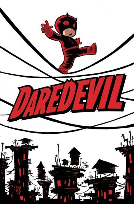 Straight off the Page variant daredevil - 8437883648