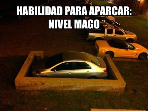 auto aparcar