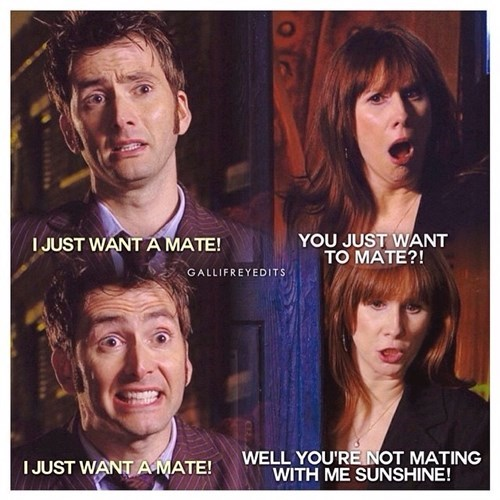 10th doctor,misunderstanding,donna noble