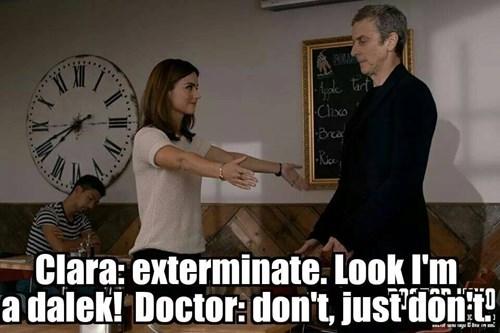 clara oswin oswald,daleks,12th Doctor