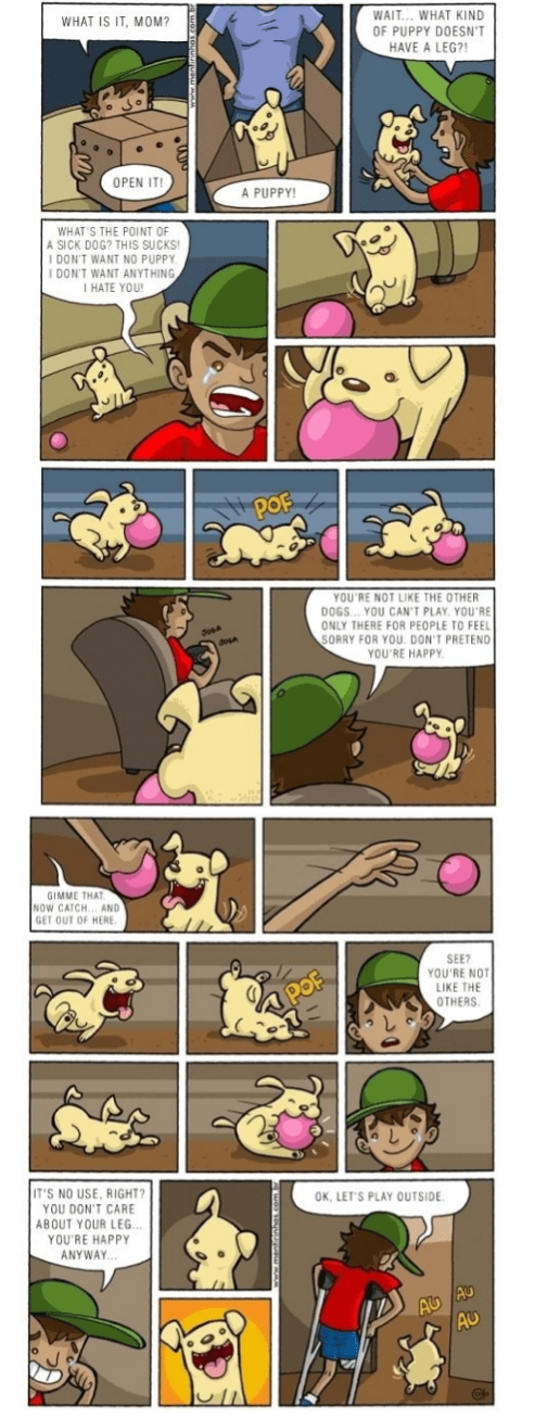 balls dogs friends sad but true legs web comics - 8438028032