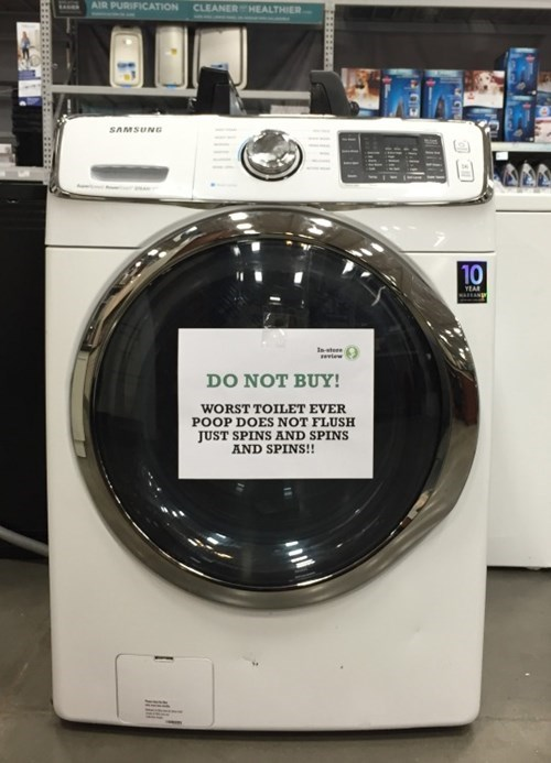 dryer washing machine toilets
