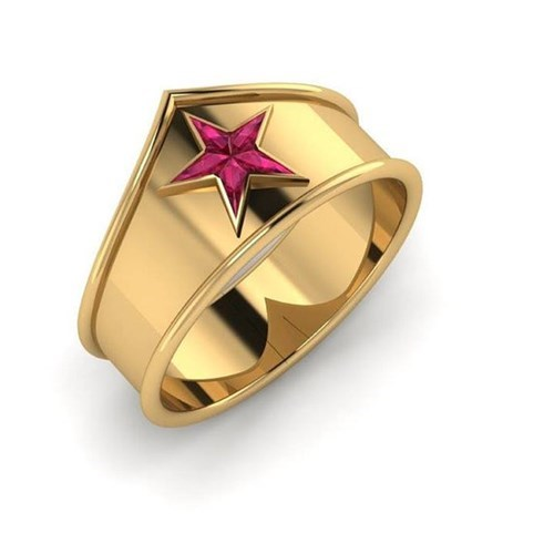 rings wonder woman etsy Jewelry - 8438081280